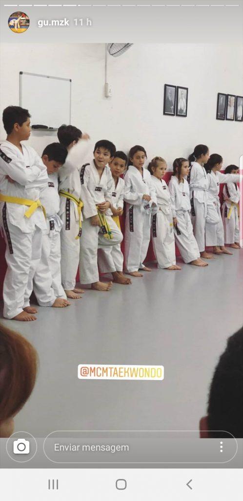 Graduação de Taekwondo Infantil - Espaço Dojo